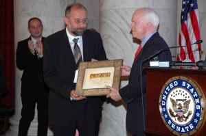 McCain Award Photo